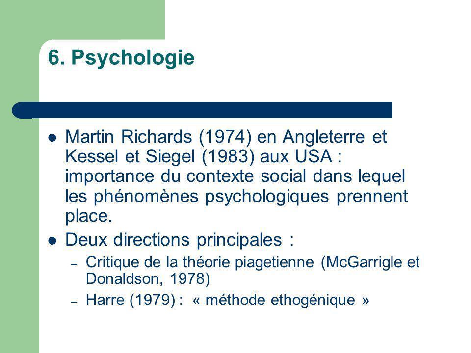 6. Psychologie