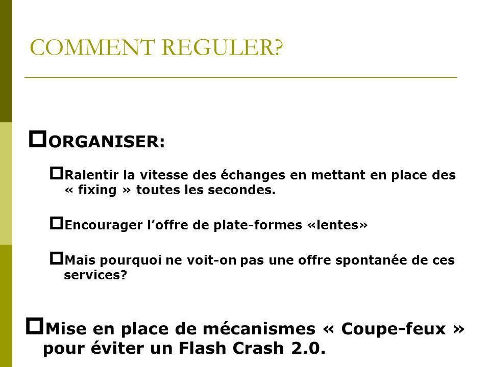 COMMENT REGULER ORGANISER: