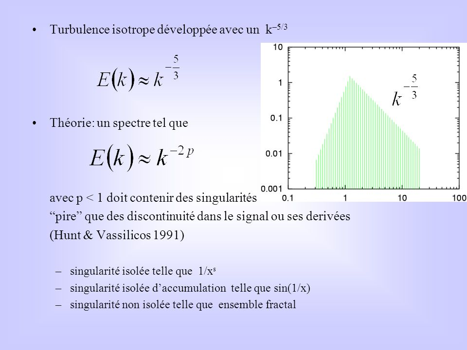 Turbulence isotrope développée avec un k–5/3