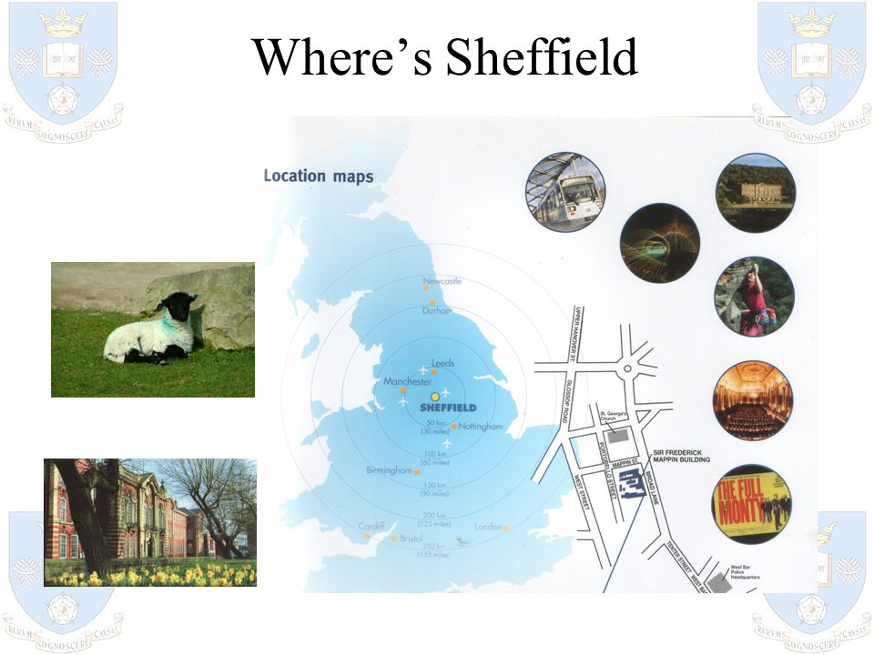 Where's Sheffield