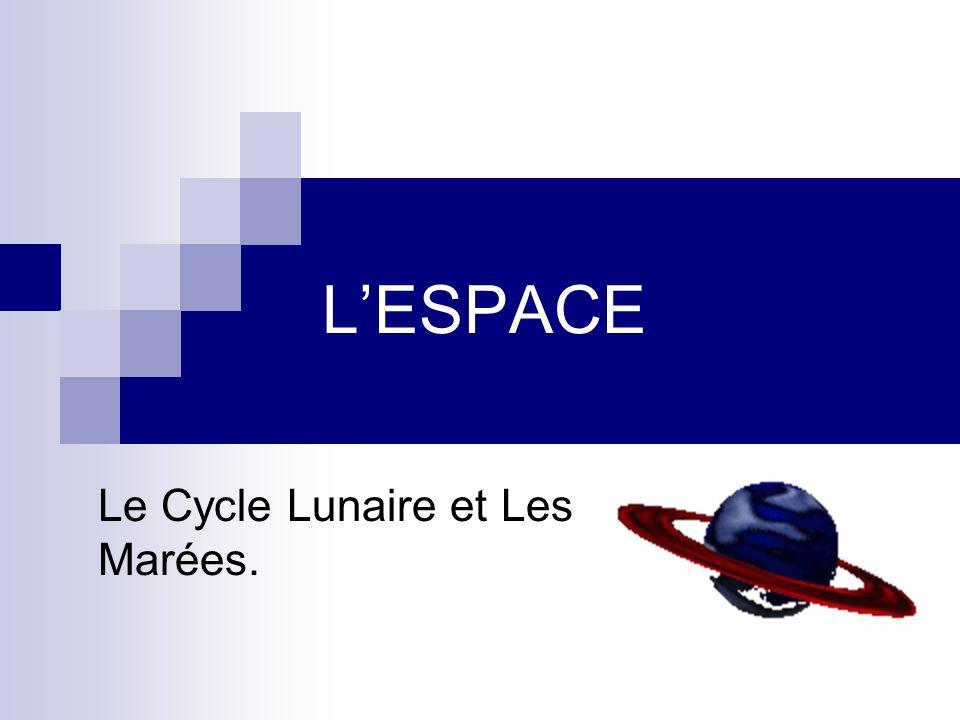 Le Cycle Lunaire et Les Marées.