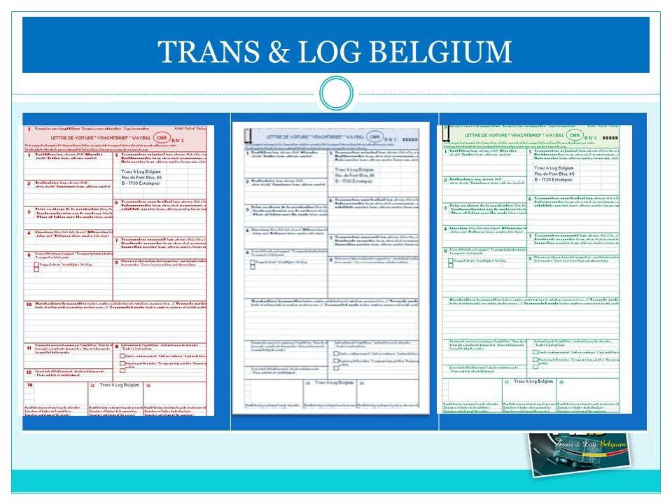 TRANS & LOG BELGIUM