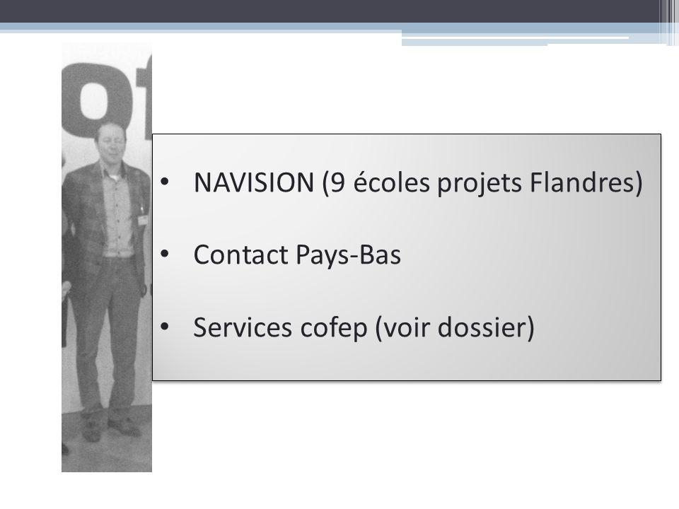 NAVISION (9 écoles projets Flandres)