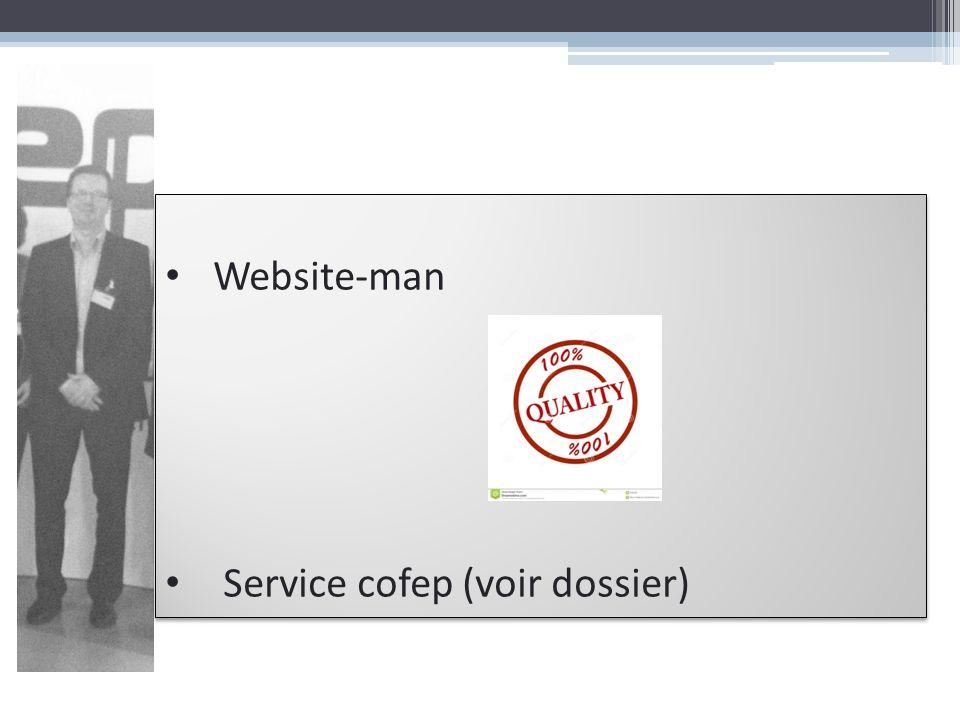 Website-man Service cofep (voir dossier)