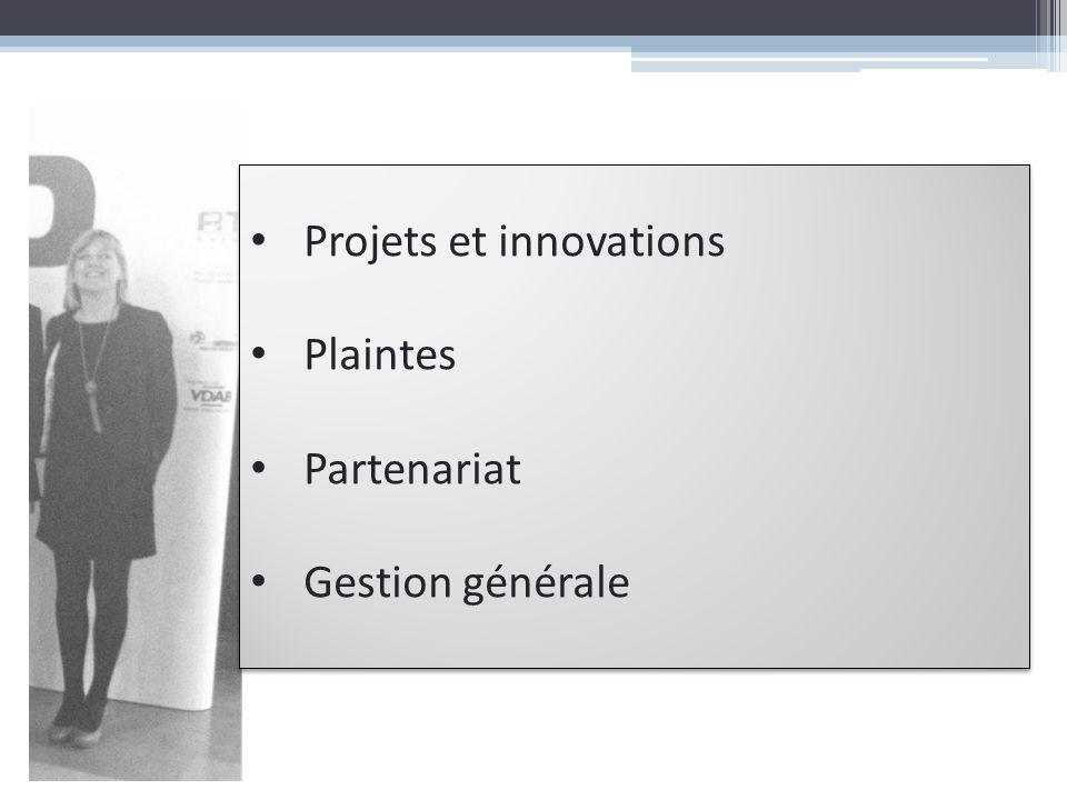 Projets et innovations