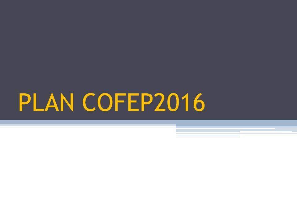 PLAN COFEP2016
