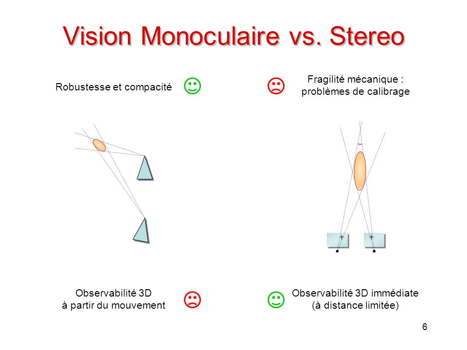 Vision Monoculaire vs. Stereo