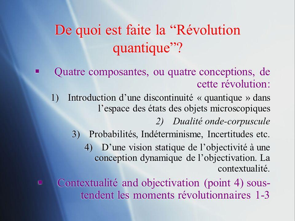 De quoi est faite la Révolution quantique