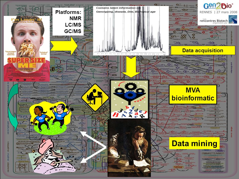 Data mining MVA bioinformatic Platforms: NMR LC/MS GC/MS