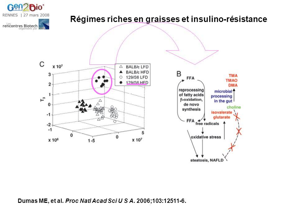 Régimes riches en graisses et insulino-résistance