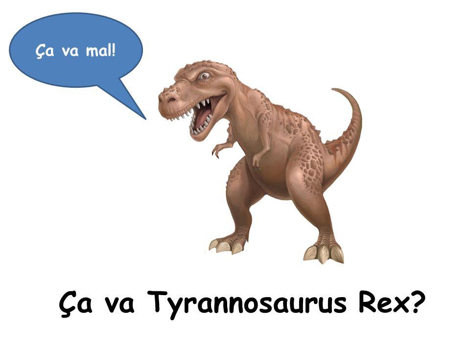 Ça va Tyrannosaurus Rex
