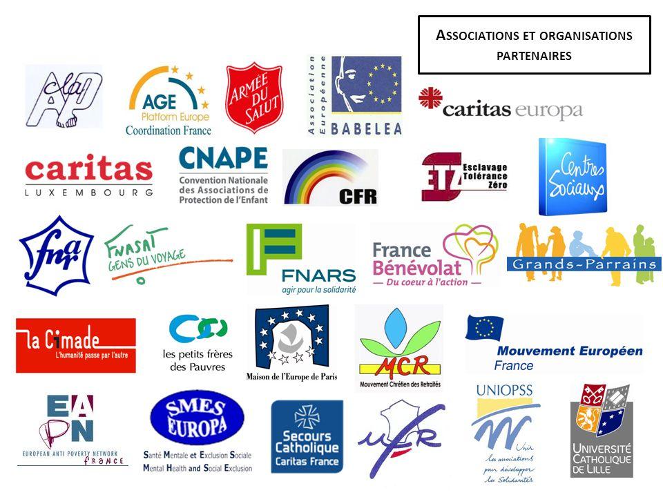 Associations et organisations partenaires