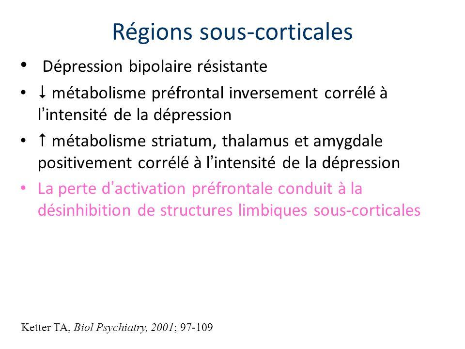 Régions sous-corticales