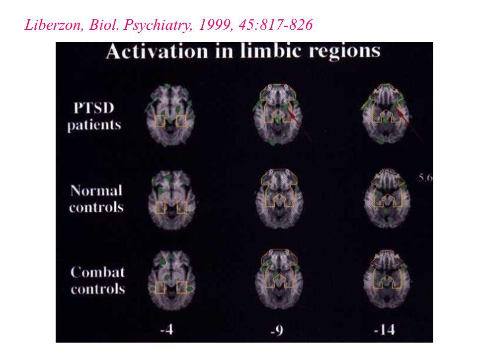Liberzon, Biol. Psychiatry, 1999, 45:817-826