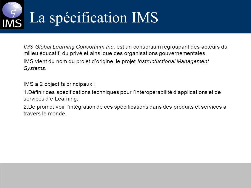 La spécification IMS