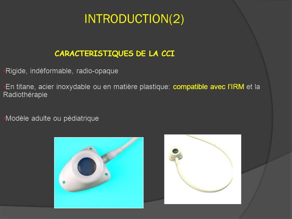 INTRODUCTION(2) CARACTERISTIQUES DE LA CCI