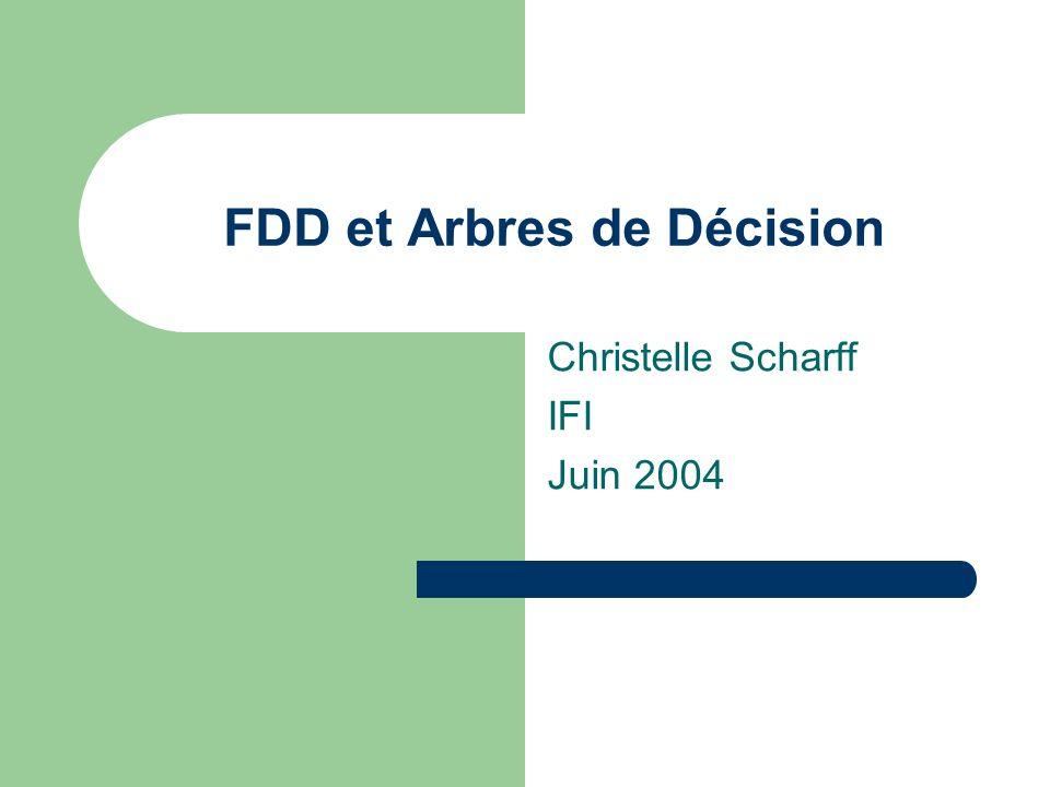 FDD et Arbres de Décision