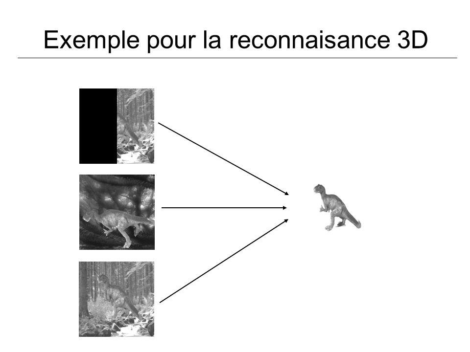 Exemple pour la reconnaisance 3D