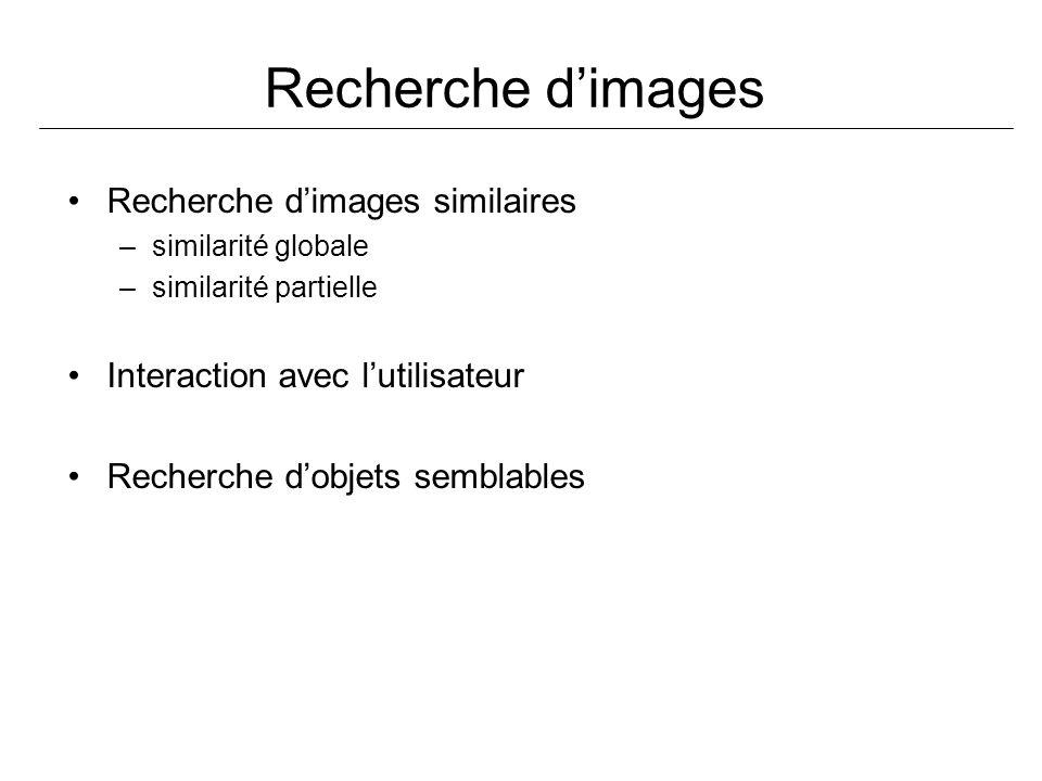 Recherche d'images Recherche d'images similaires