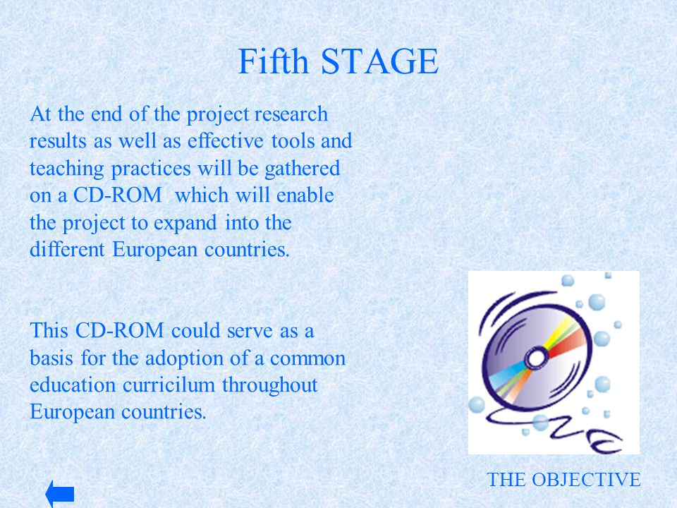 Fifth STAGE