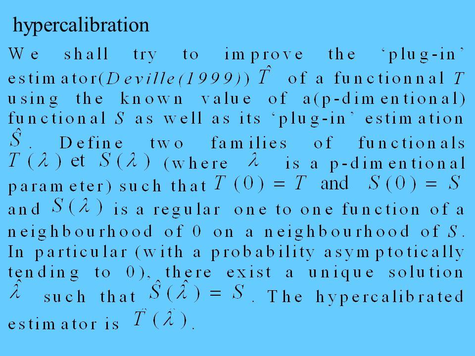 hypercalibration