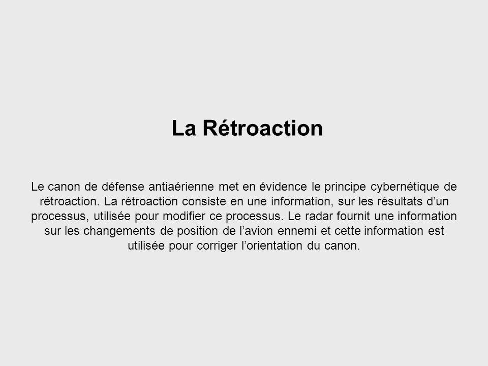 Feedback La Rétroaction.
