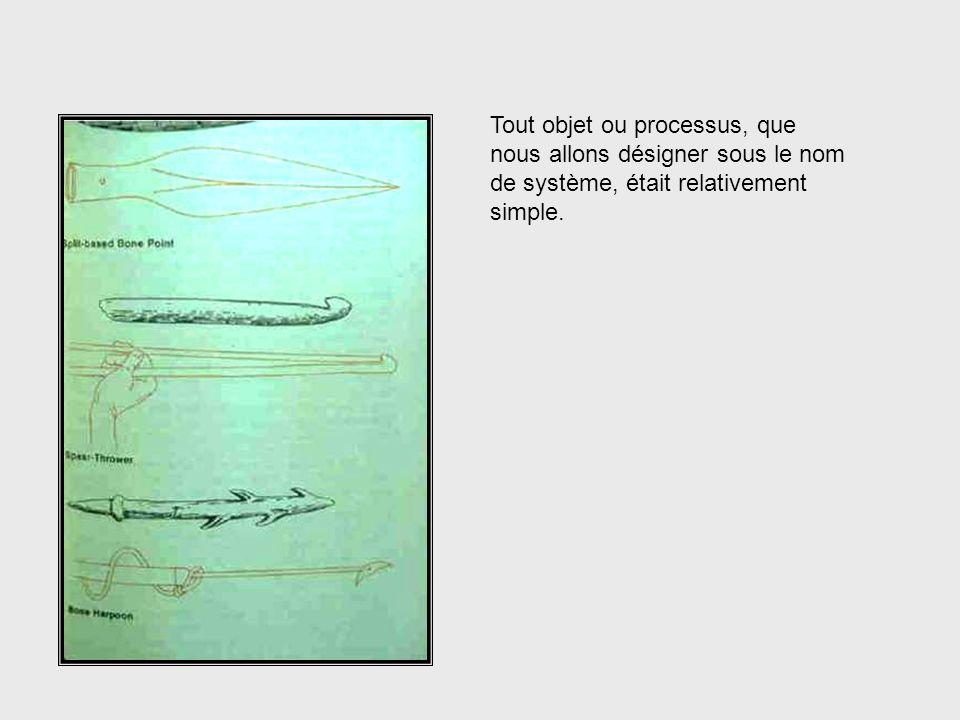 Objects & Processes Tout objet ou processus, que nous allons désigner sous le nom de système, était relativement simple.