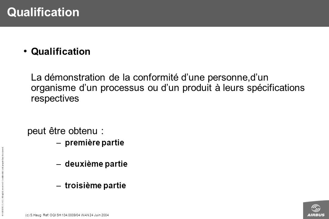 Qualification Qualification Qualification