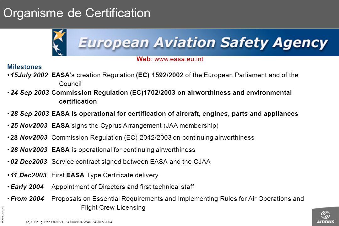 Organisme de Certification