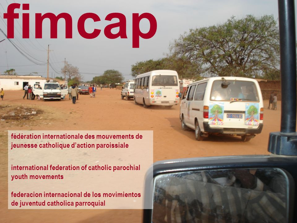 fimcap fédération internationale des mouvements de jeunesse catholique d'action paroissiale. international federation of catholic parochial.