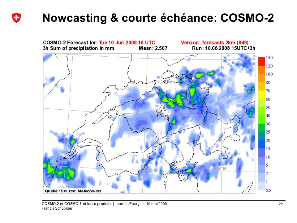 Nowcasting & courte échéance: COSMO-2