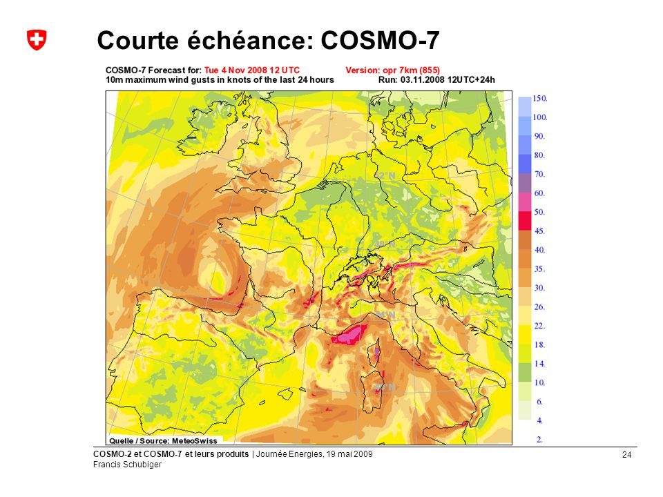 Courte échéance: COSMO-7