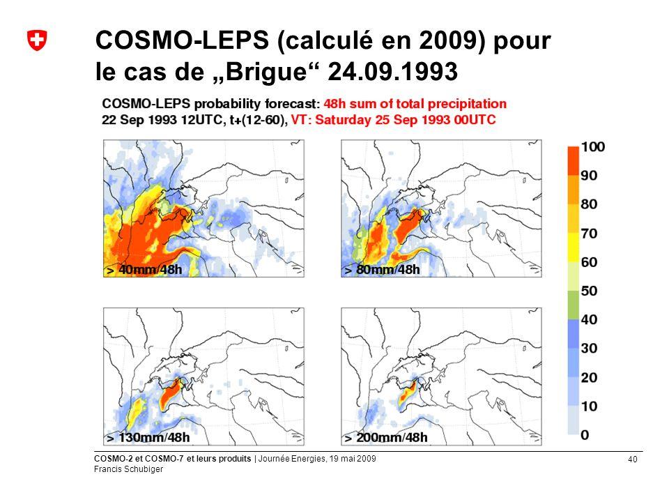"""COSMO-LEPS (calculé en 2009) pour le cas de """"Brigue 24.09.1993"""