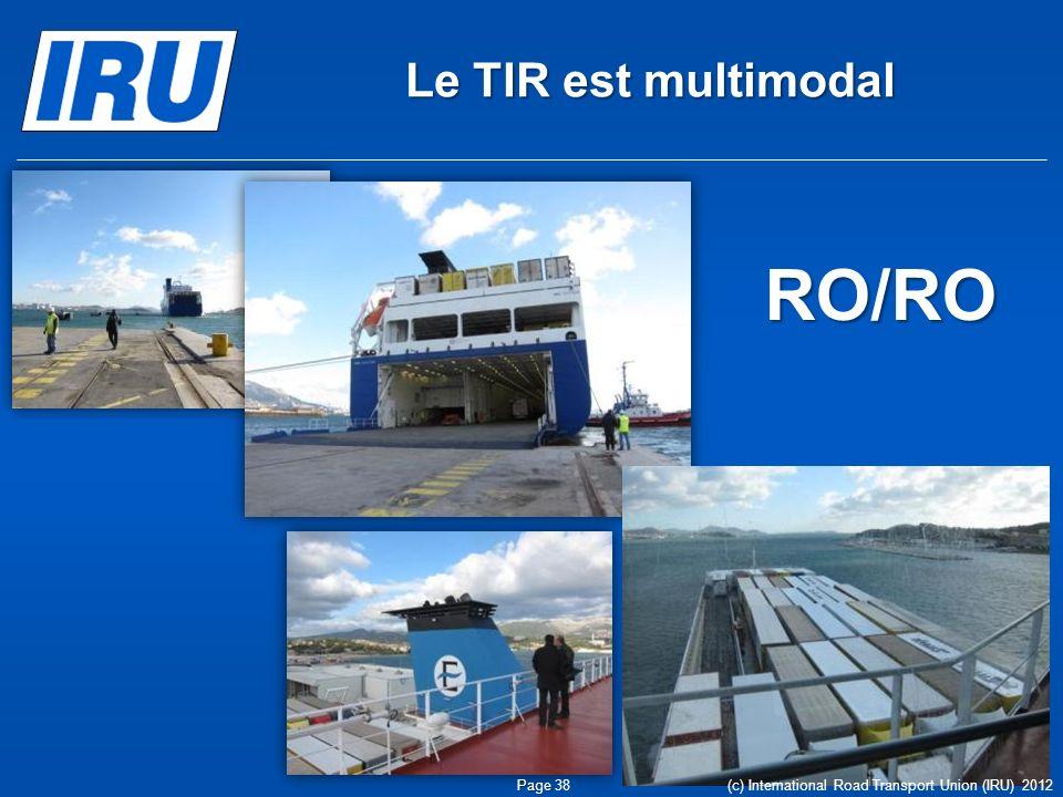 RO/RO Le TIR est multimodal