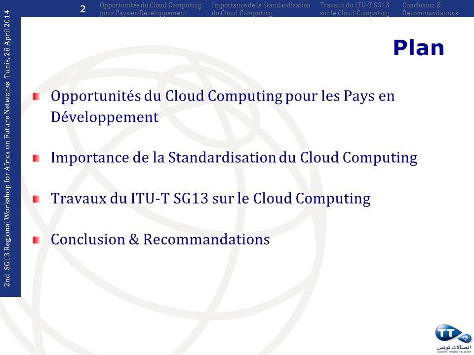 Plan Opportunités du Cloud Computing pour les Pays en Développement