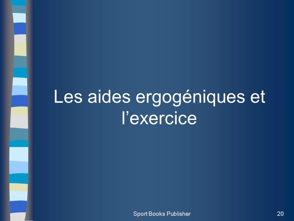 Les aides ergogéniques et l'exercice