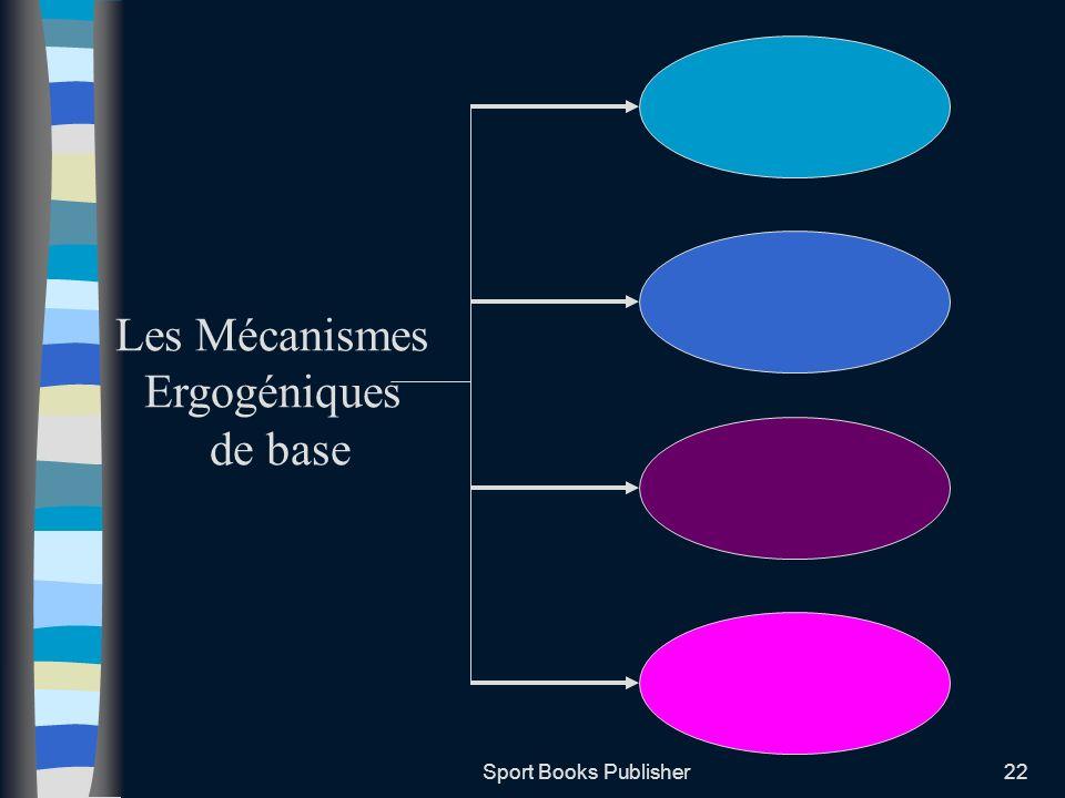 Les Mécanismes Ergogéniques de base Sport Books Publisher