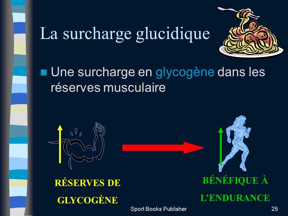 La surcharge glucidique