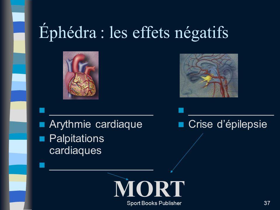 Éphédra : les effets négatifs