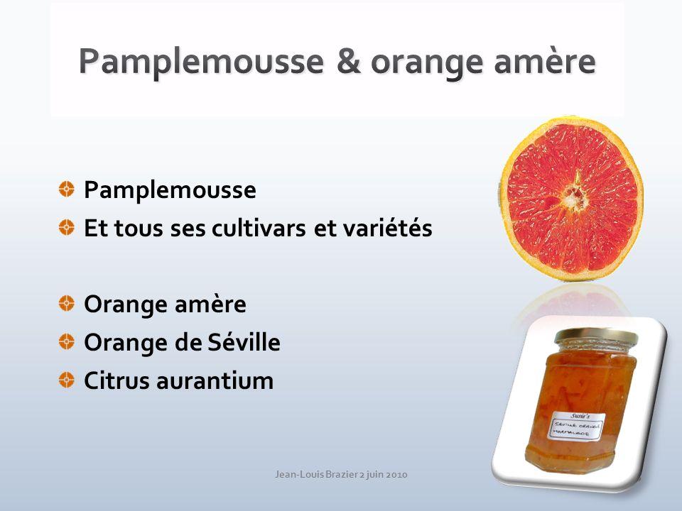 Pamplemousse & orange amère