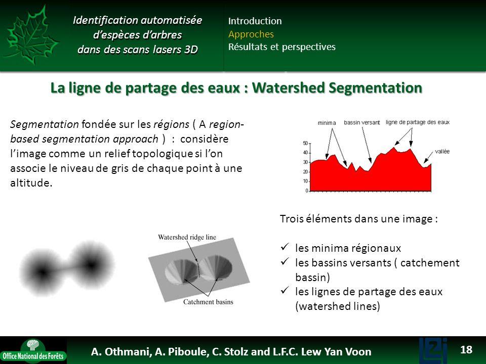 La ligne de partage des eaux : Watershed Segmentation