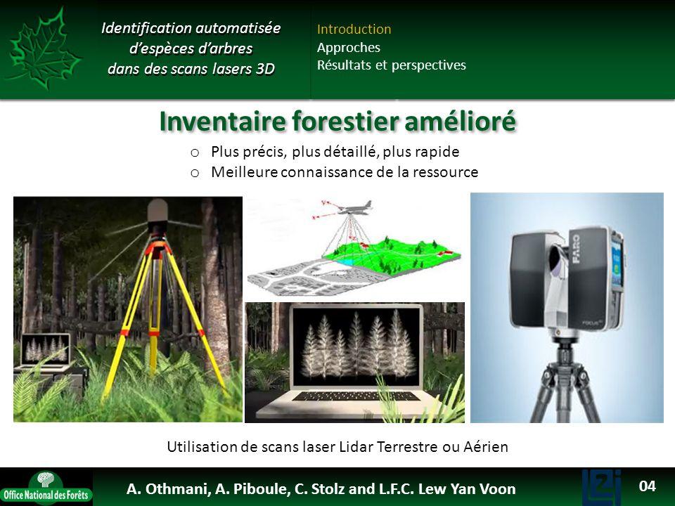 Inventaire forestier amélioré