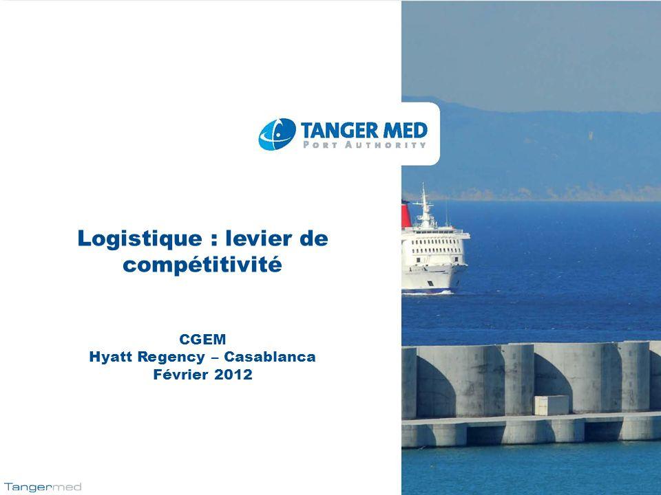 Logistique : levier de compétitivité Hyatt Regency – Casablanca