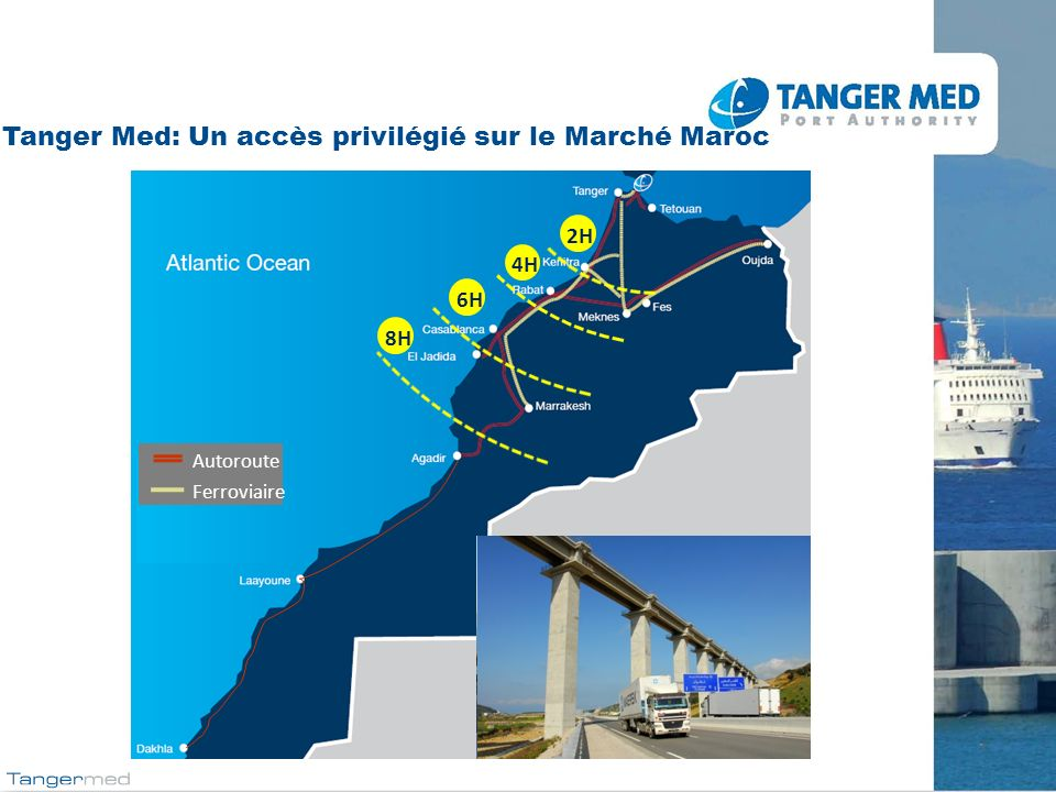 Tanger Med: Un accès privilégié sur le Marché Maroc