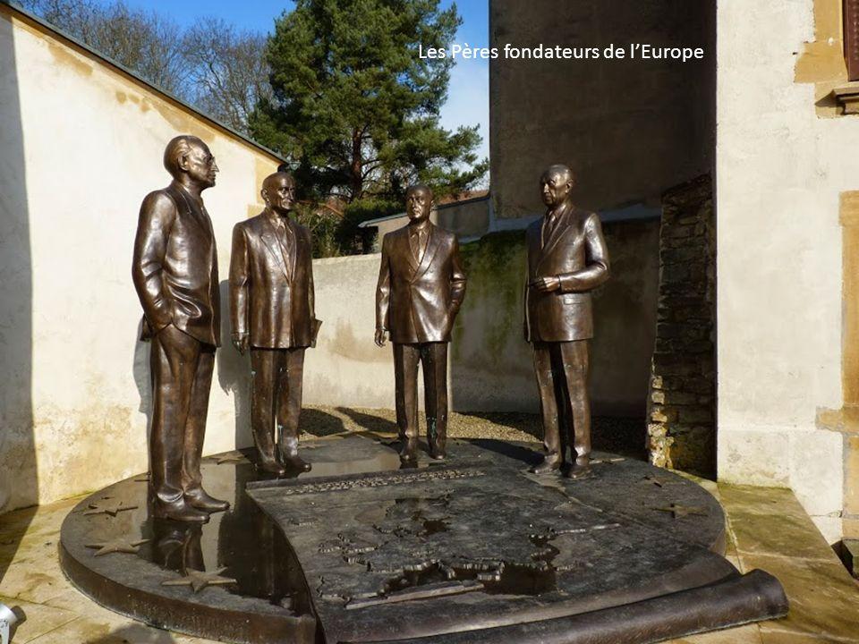 Les Pères fondateurs de l'Europe