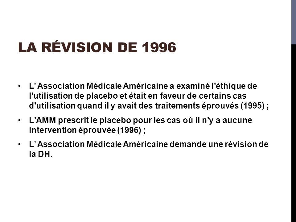 La Révision de 1996