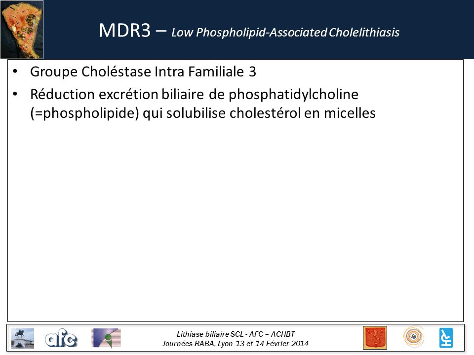 MDR3 – Low Phospholipid-Associated Cholelithiasis