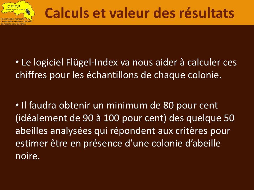 Calculs et valeur des résultats