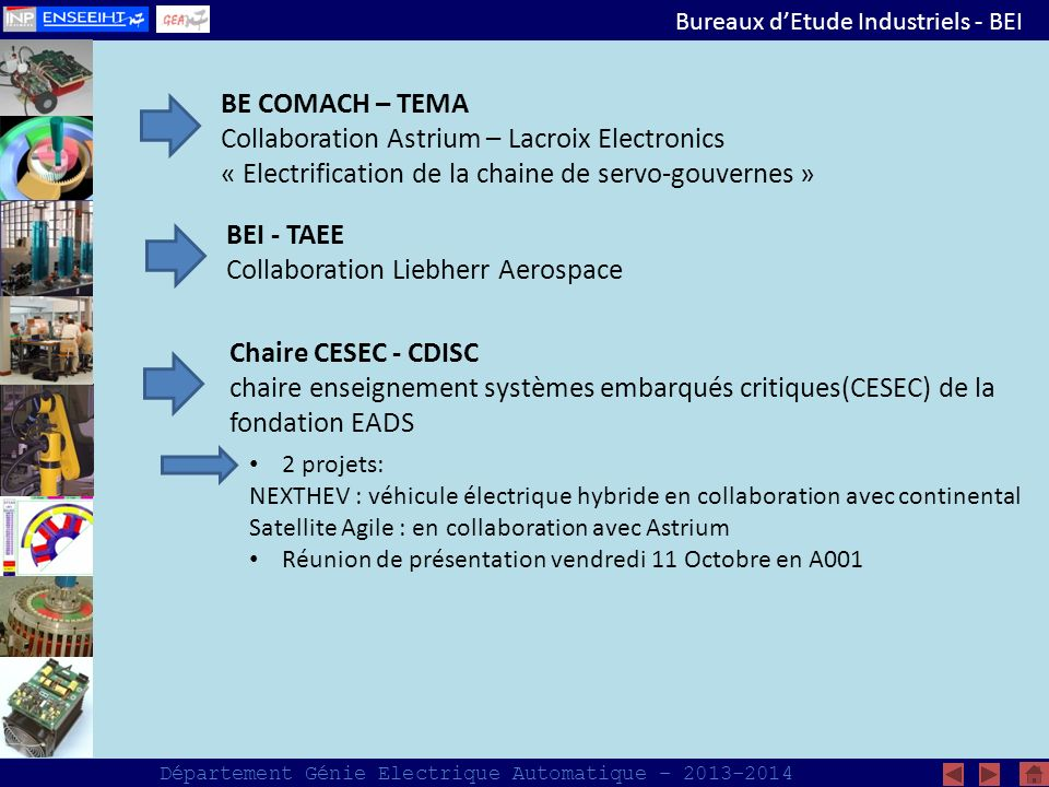 Collaboration Astrium – Lacroix Electronics