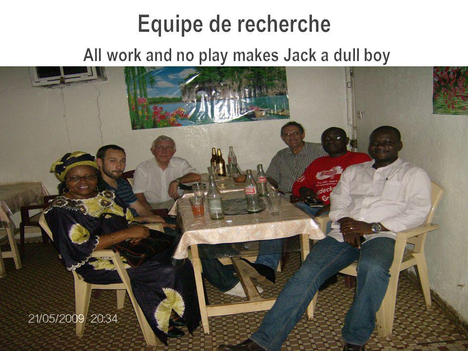 Equipe de recherche All work and no play makes Jack a dull boy